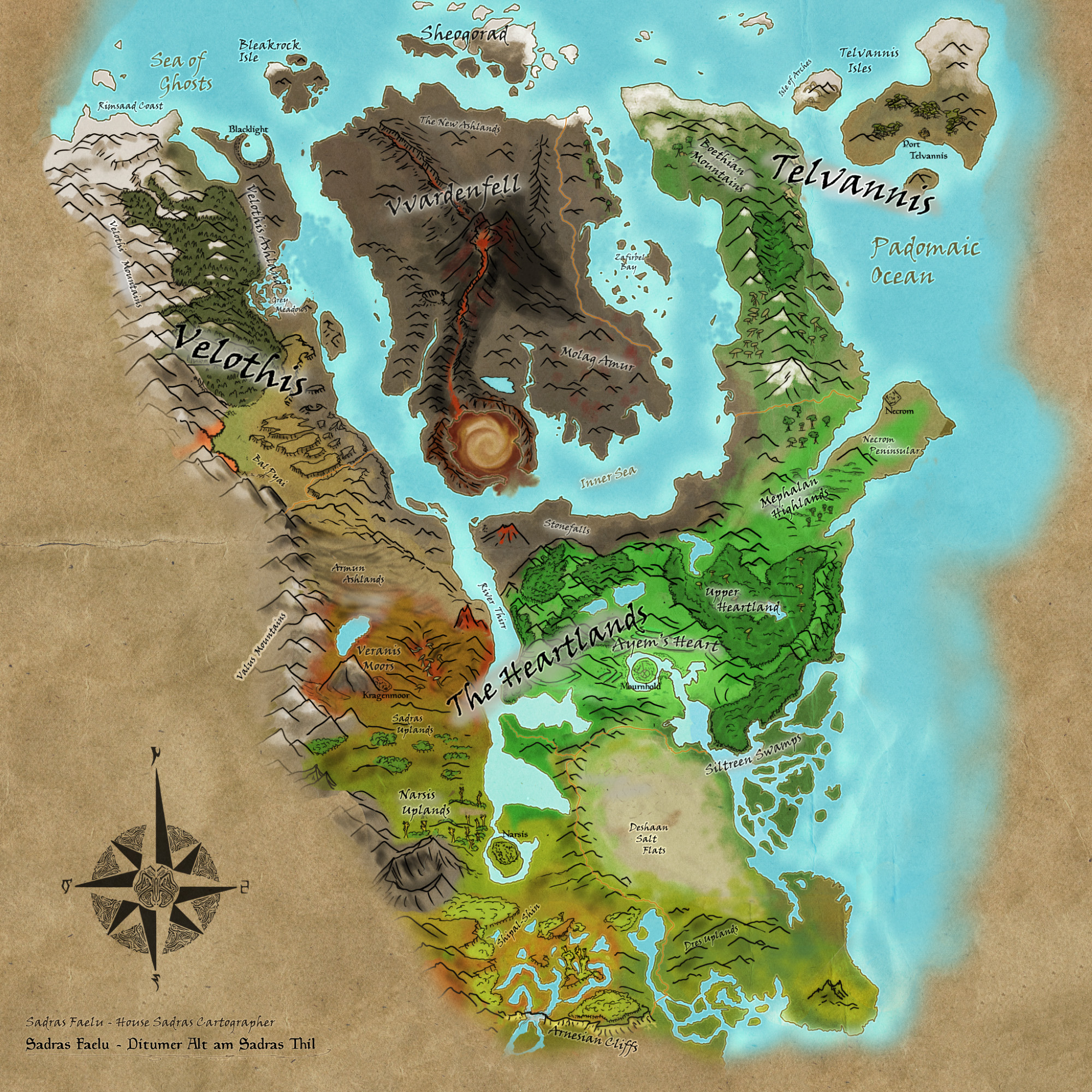 Morrowind The Star Wounded East Beyond Skyrim