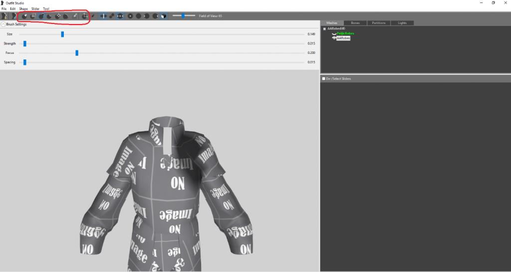 Rigging: Outfit Studio - Beyond Skyrim