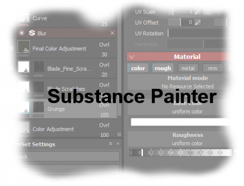 Texturing: Substance Painter